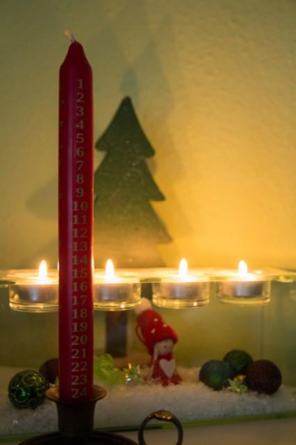 2014-11-29 Adventskerze