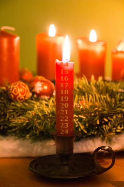 2014-12-14 Adventskerze