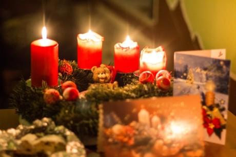 2014-12-21 Adventskranz