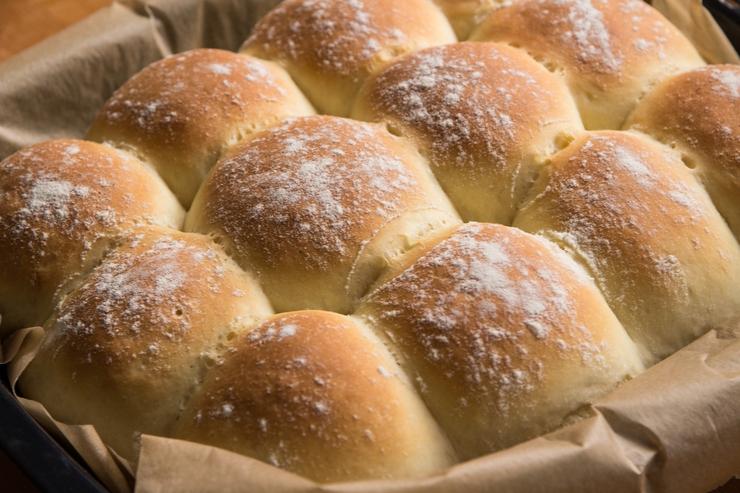 Dinner Rolls – kleine Burger-Brötchen