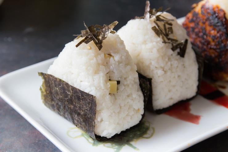 Onigiri: Shio Nori Cheese nach Tadokoro-chan