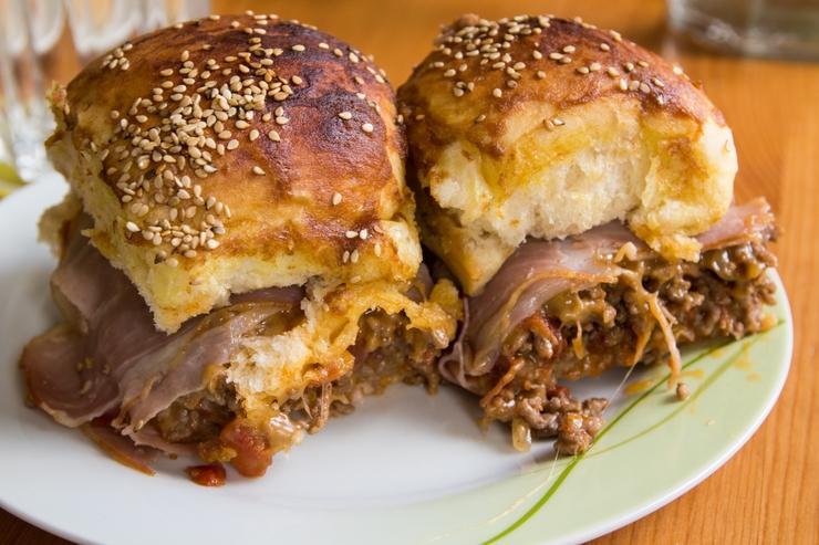 Sliders: Bacon Cheeseburger