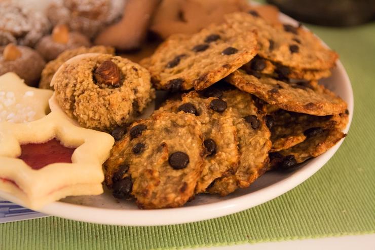 gesunde Müsli Cookies