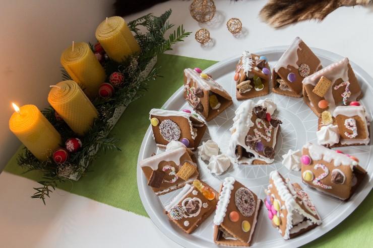 erster Advent zu Dritt im Lebkuchen-Dorf